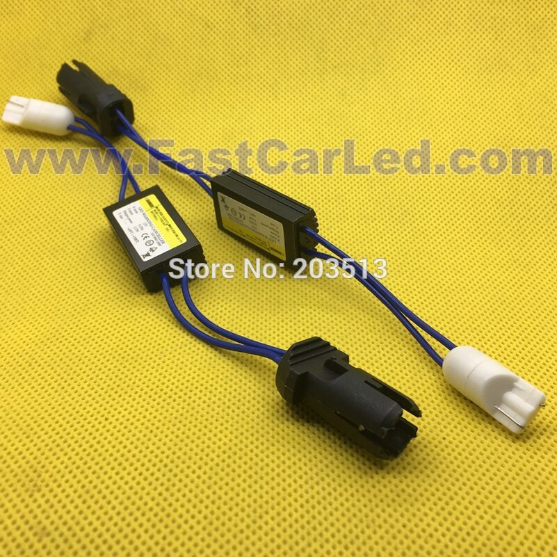 100 unids/lote 12V LED cancelador de advertencia decodificador 501 T10 W5W sin Canbus OCB resistencia de carga de Error