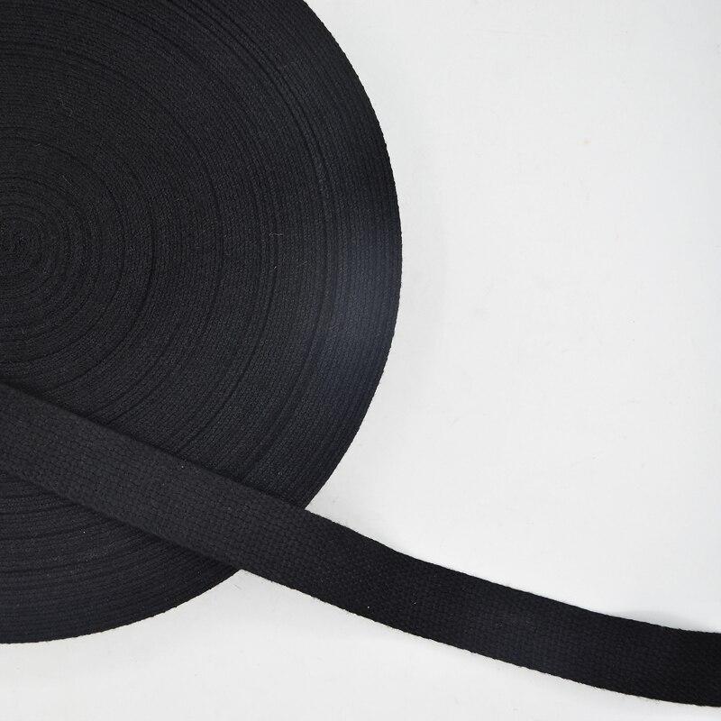 Correa de costura de algodón de 10 metros y 2,5 cm de grosor fuerte para mochila, accesorios de costura DIY, cinta de algodón