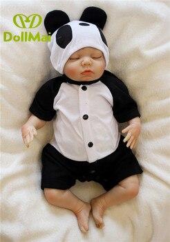 Reborn boy dolls 45cm silicone reborn baby dolls toys for children gift bebe realistic reborn menino bonecas
