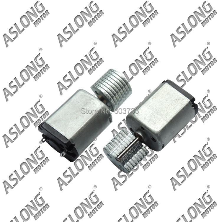 20 piezas Aslong 2,5 v-6,0 v, motor de vibración 12mm * 18,6mm 11g motor de vibración envío gratis