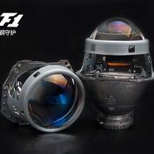 Gratis Verzending Aes Kingkong F1 Bi-Xenon Hid Projector Lens 3.0 Inch Blauw Glas Hella 5 3R Koplamp Projector retrofit Auto-onderdelen