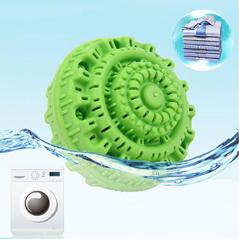 Экологичный зеленый шарик для стирки многоразовые молекулы аниона очищающий волшебный моющий инструмент для личной гигиены