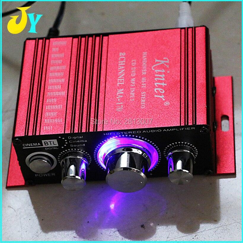 Mini amplificador de potencia para Arcade, amplificador estéreo HI-FI LED para caja...
