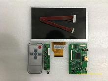 새로운 7 인치 lcd 터치 스크린 at070tn90 at070tn92 컨트롤러 드라이버가있는 20000938-00 용량 성 디지타이저