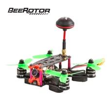 BeeRotor Ultra 130 FPV course Mini quadrirotor ARF ensemble Combo caméra Drone cadre Kit BR130-U01