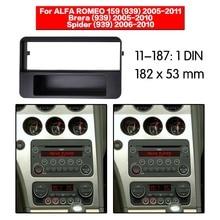 1 din Car Radio Fascia Panel for ALFA ROMEO 159 (939),Brera (939),Spider (939) w/pocket Stereo Dash Facia Kit 11-187