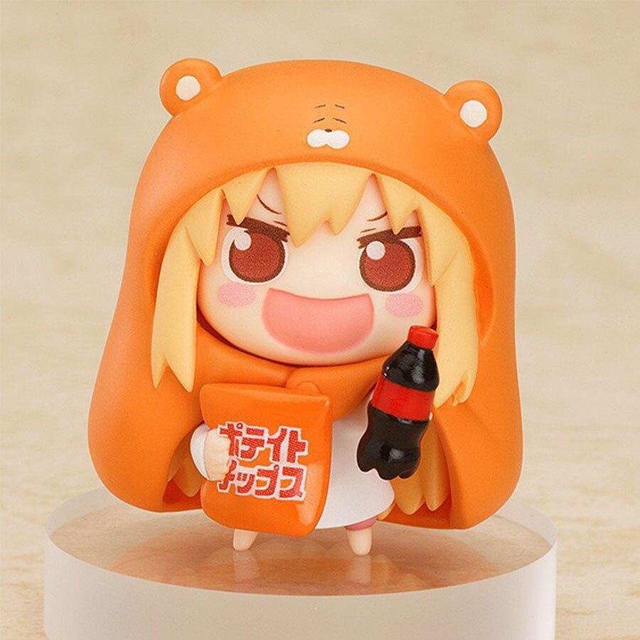 ¡8 Uds Anime pequeño enterrado Sankaku cabeza Himouto! Umar-chan Umaru Doma Nanan ebina modelo PVC figura de acción muñeca juguete para regalo para niños