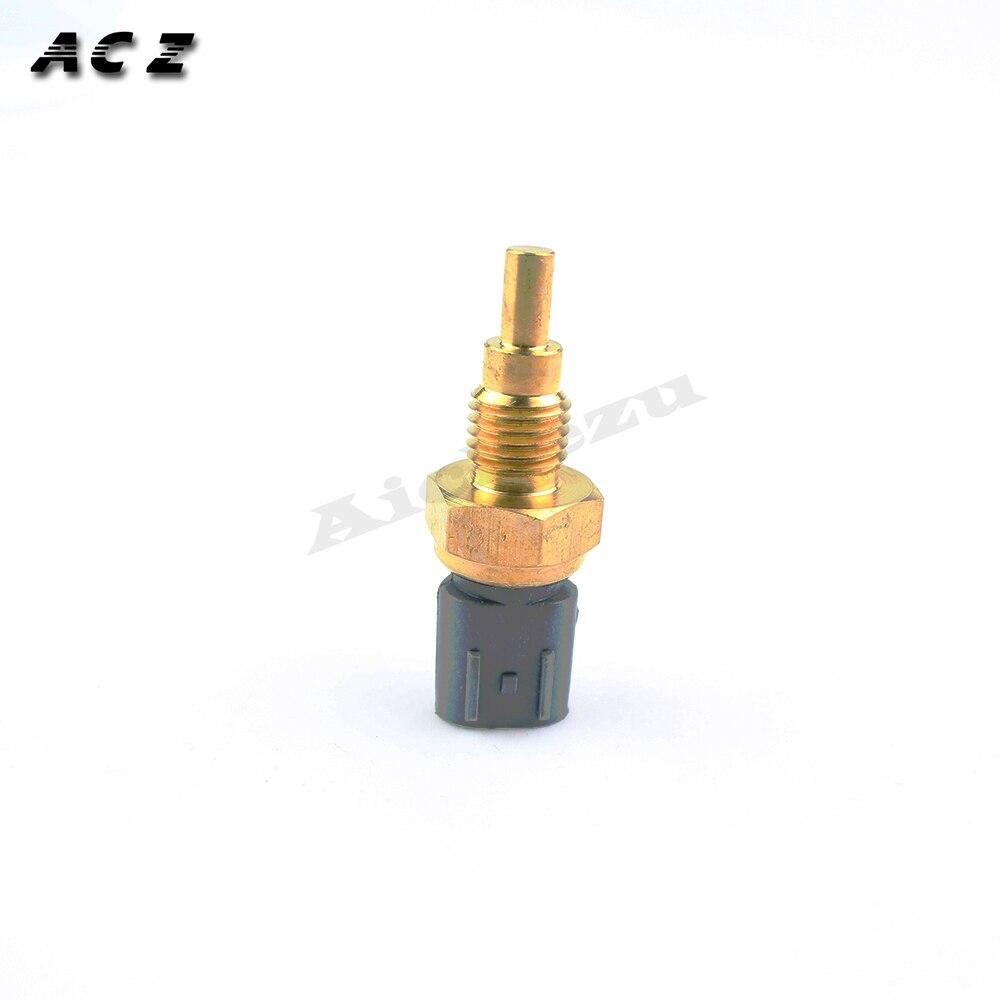 Sensor de temperatura del agua de la motocicleta ACZ, interruptor del ventilador del radiador del termostato de agua para Suzuki AN650 BURGMAN 650 SKYWAVE 2002-2012
