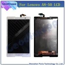 Tableta LCD para Lenovo IdeaTab A8-50 A5500 pantalla táctil Panel digitalizador montaje para Panel Sensor piezas de repuesto