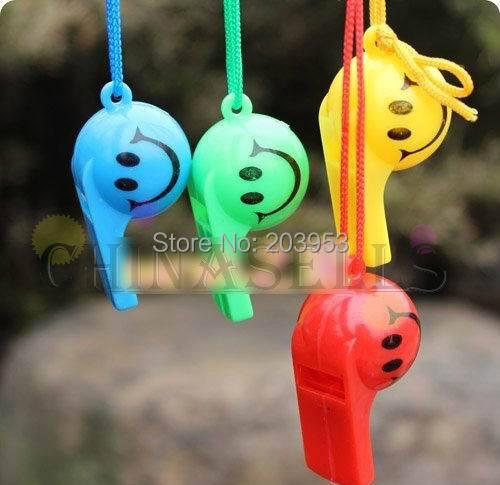 2 шт., цветной детский футбольный свисток для болельщиков