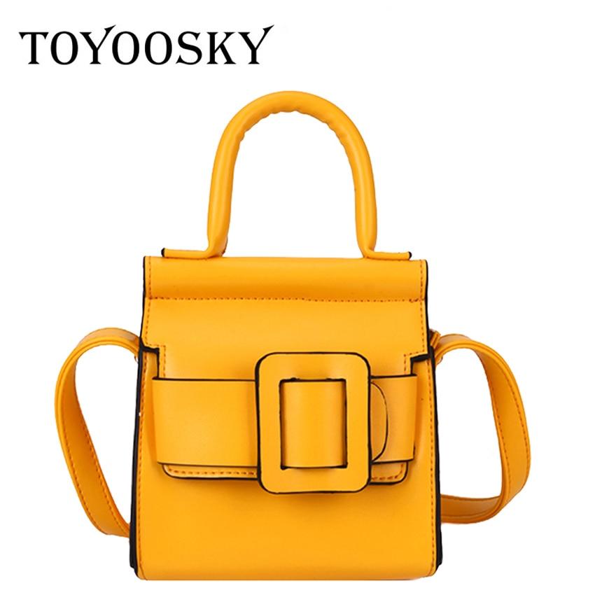TOYOOSKY Fashion Top-handle Handbag Designer Women Crossbody Bag Mini Shoulder Messenger Bags for 2019 Sac Bolsa Feminina