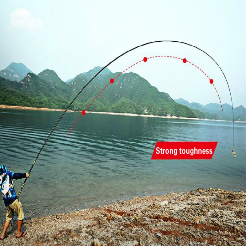 8m16mTaiwan Fishing Rod Catfish Squid Canne a Peche Long Section Fly Fishing Pole Ultra Light Telescopic Fishing Pole Olta Pesca enlarge