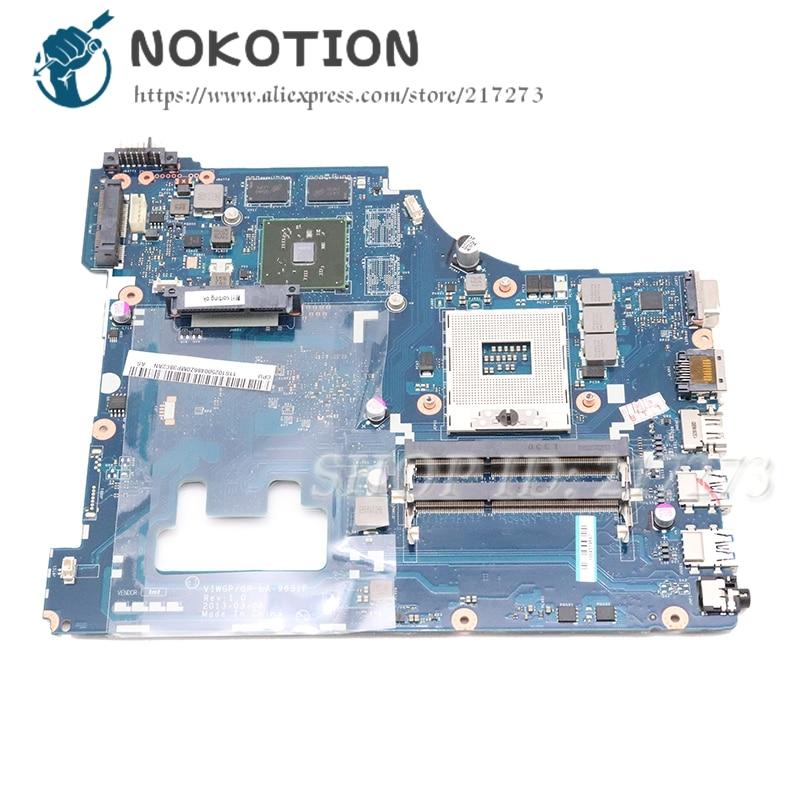NOKOTION VIWGP GT LA-9631P الرئيسي مجلس لينوفو G500 15.6 بوصة اللوحة المحمول HM76 DDR3 HD8570M الفيديو بطاقة