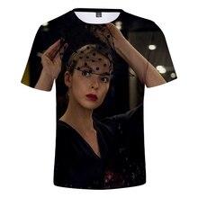 2019 tuant Eve t-shirt Harajuku Kpop t-shirts Eve femmes vêtements streetwear harajuku manches courtes Kpop grande taille style de rue