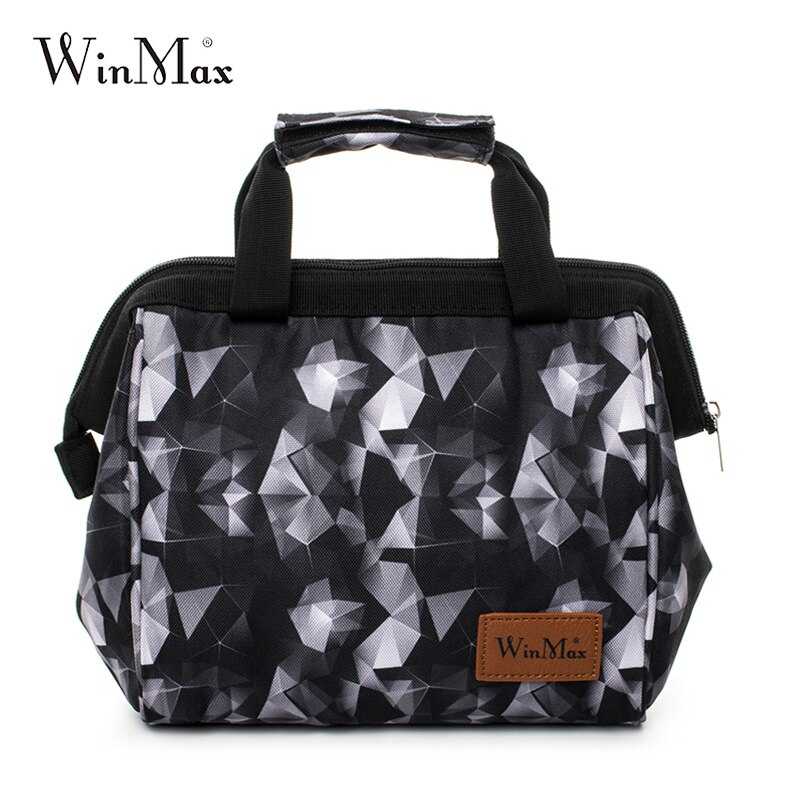 Winmax marque épaissir sac à déjeuner refroidisseur boîte à déjeuner isolé nourriture thermique fruits frais garder glace stockage sacs à main pour hommes femmes enfants