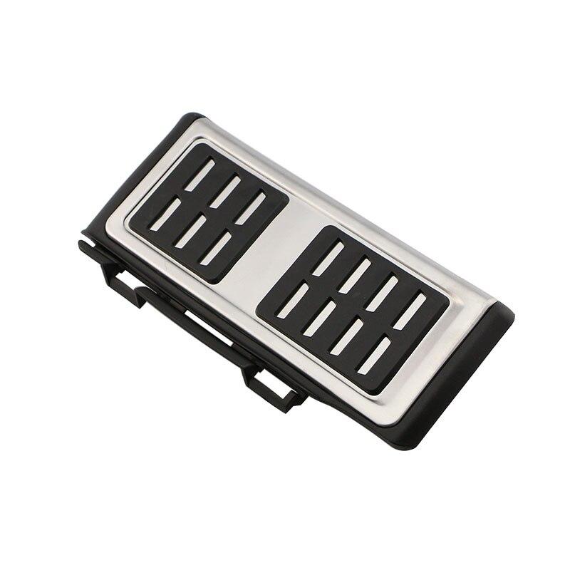 Pedales de acero inoxidable para coche Zlord, cubierta de Pedal para Volkswagen VW Passat B8 3G, edición limitada, variante VIII 2015 - 2018