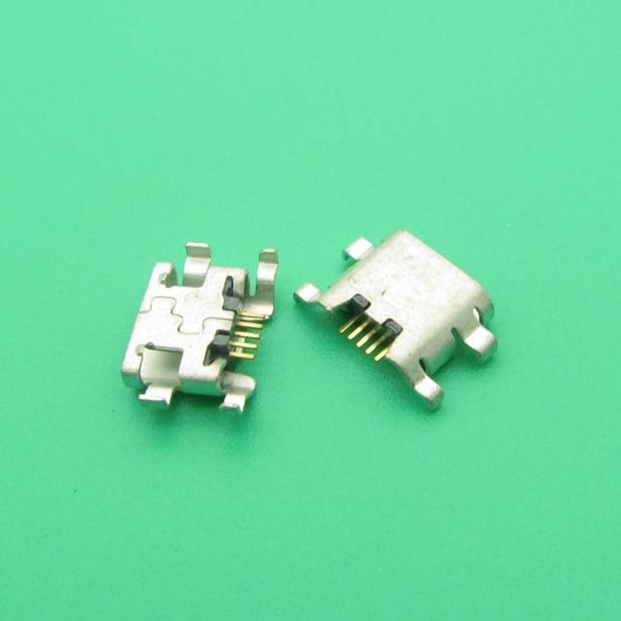 100 pçs/lote Para Lâmina ZTE L2 novo mini micro carregador USB de carregamento jack soquete do conector dock plugue porta 5pin reparação