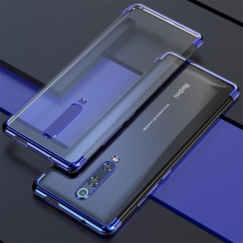 Funda para Xiaomi Mi 9T, funda trasera transparente de silicona con recubrimiento de TPU, funda fina suave Ultra para Xiaomi Mi 9Tpro