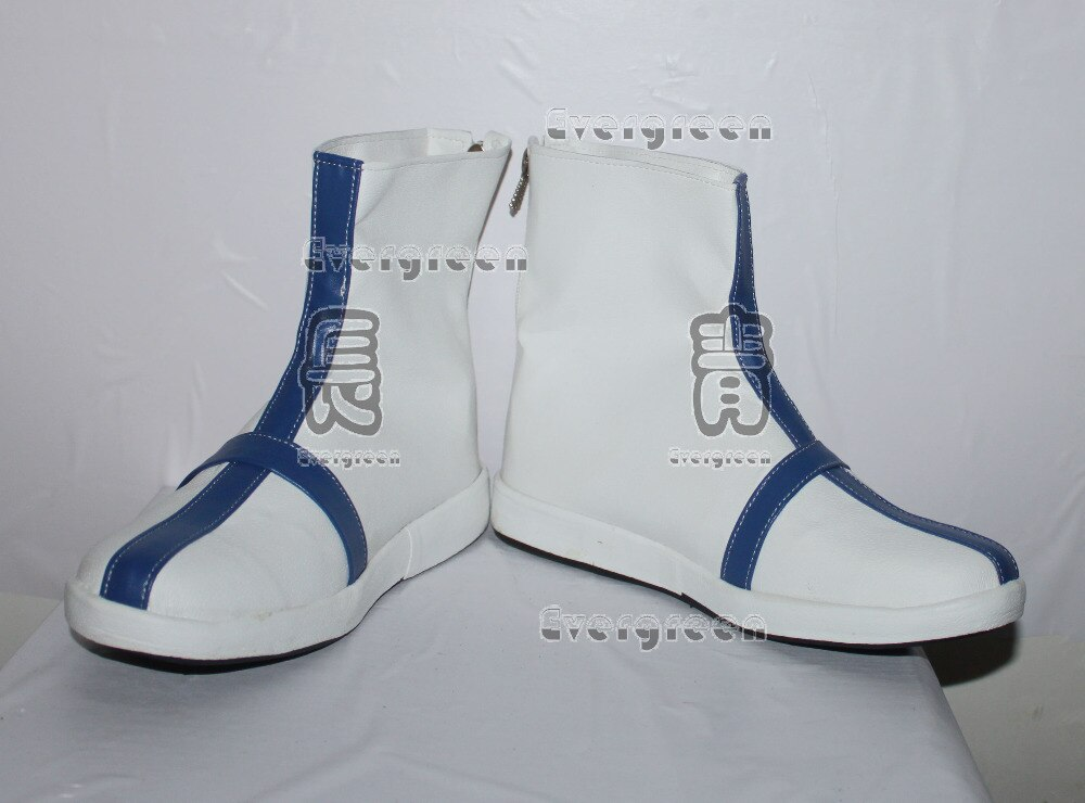 Bleach Ishida Uryuu Cosplay Branco Curto Sapatos Botas C006