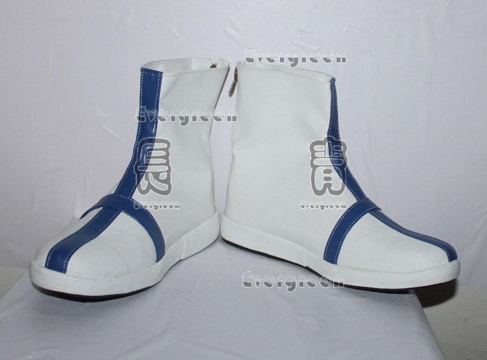 Bleach Ishida Uryuu blanco Cosplay zapatos cortos botas C006