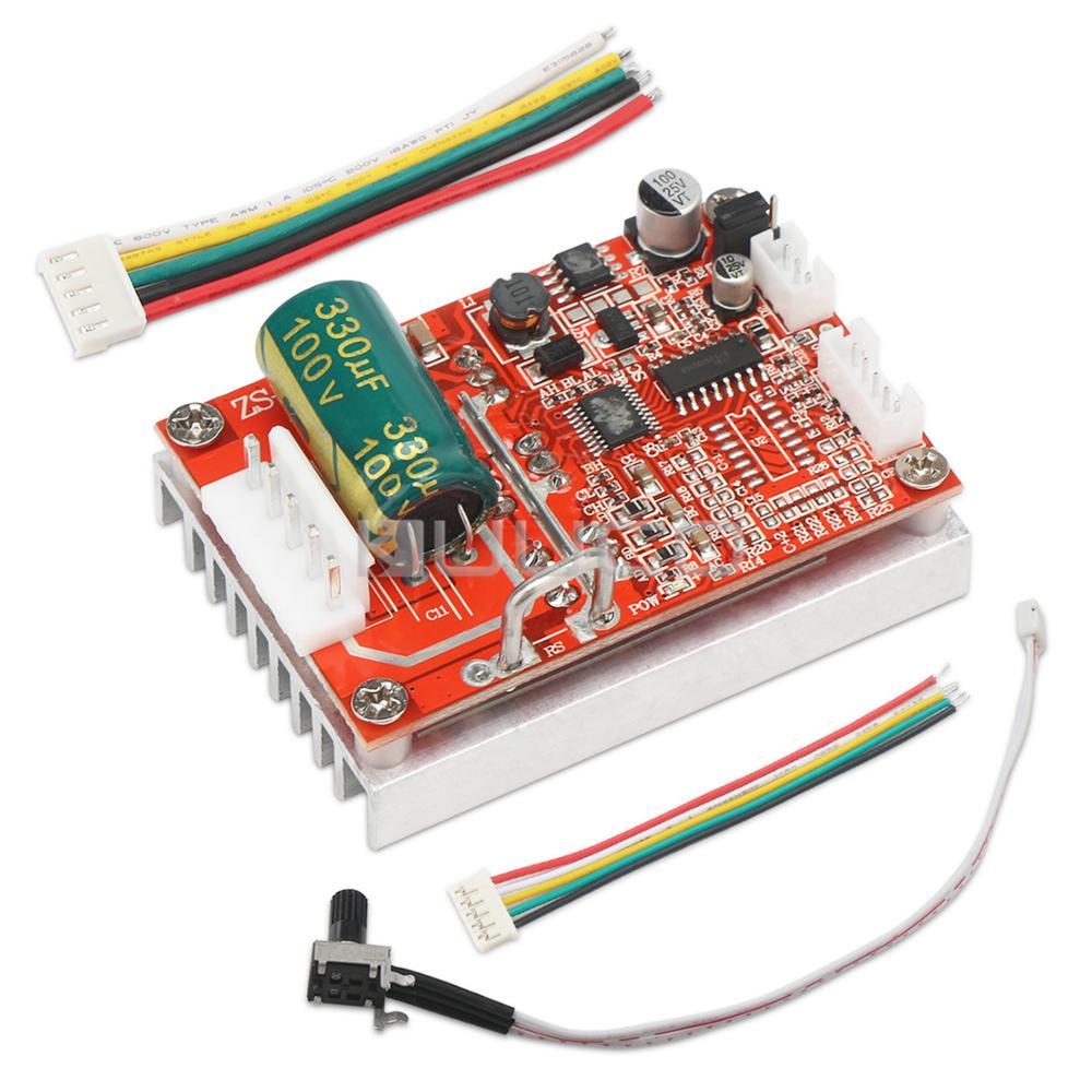 Sin escobillas Motor sensored Placa de controlador de Motor DC regulador 5 ~ 36V 16A 350W controlador de Motor BLDC interruptor
