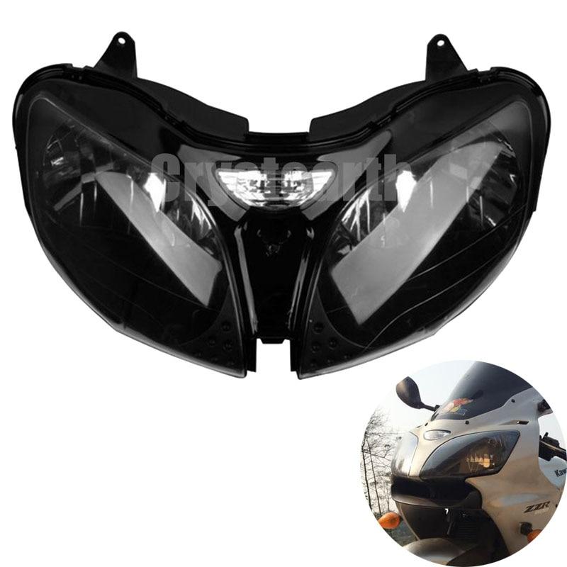 Motorcycle Accessories Headlight Headlamp Front Head Light Lamp Housing For Kawasaki Ninja ZX6R ZX-6R ZX 6R 2000 2001 2002