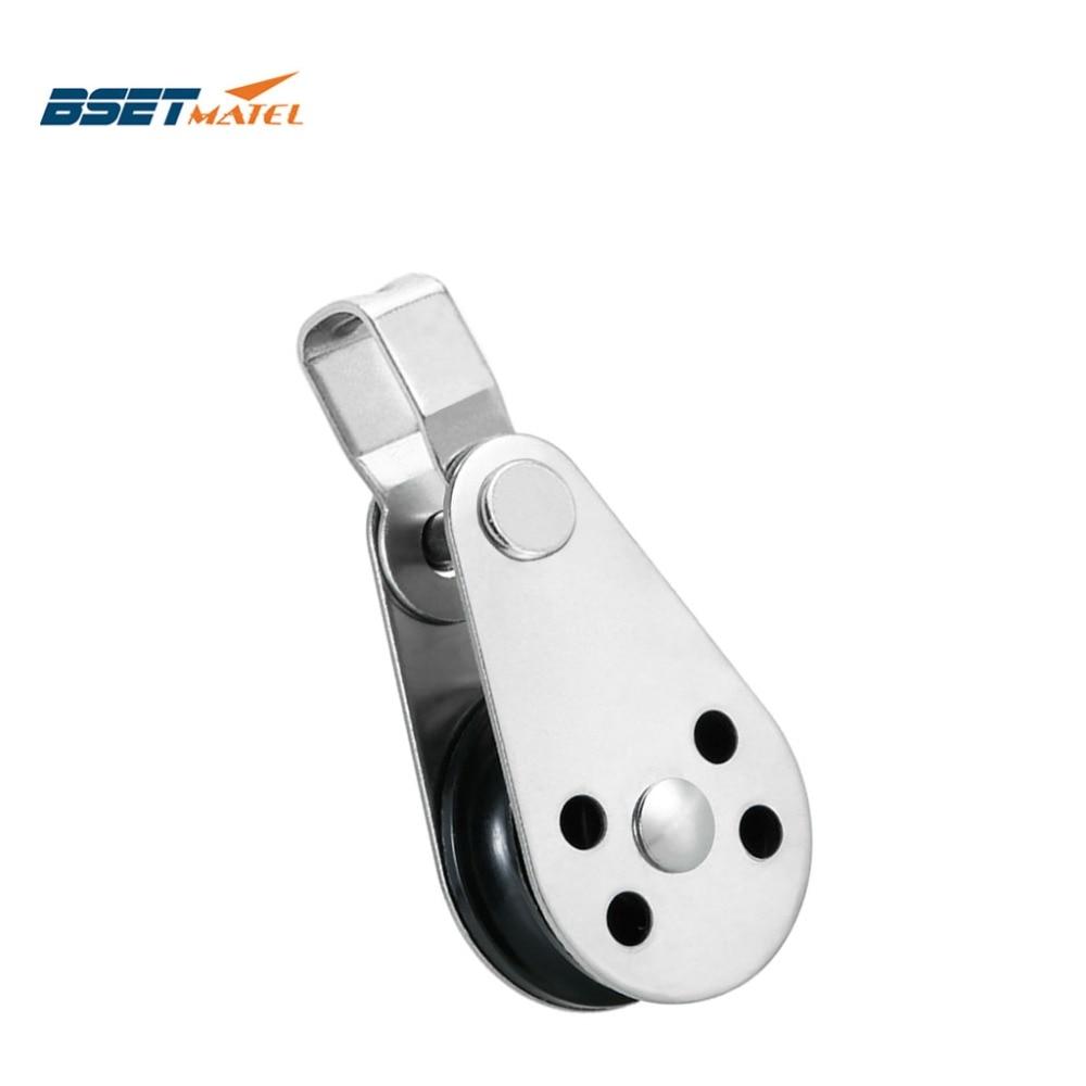 Шкив BSET MATEL из нержавеющей стали 316, трос, бегун, каяк, аксессуары для лодок, якорь, тележка, комплект для веревки от 2 мм до 8 мм