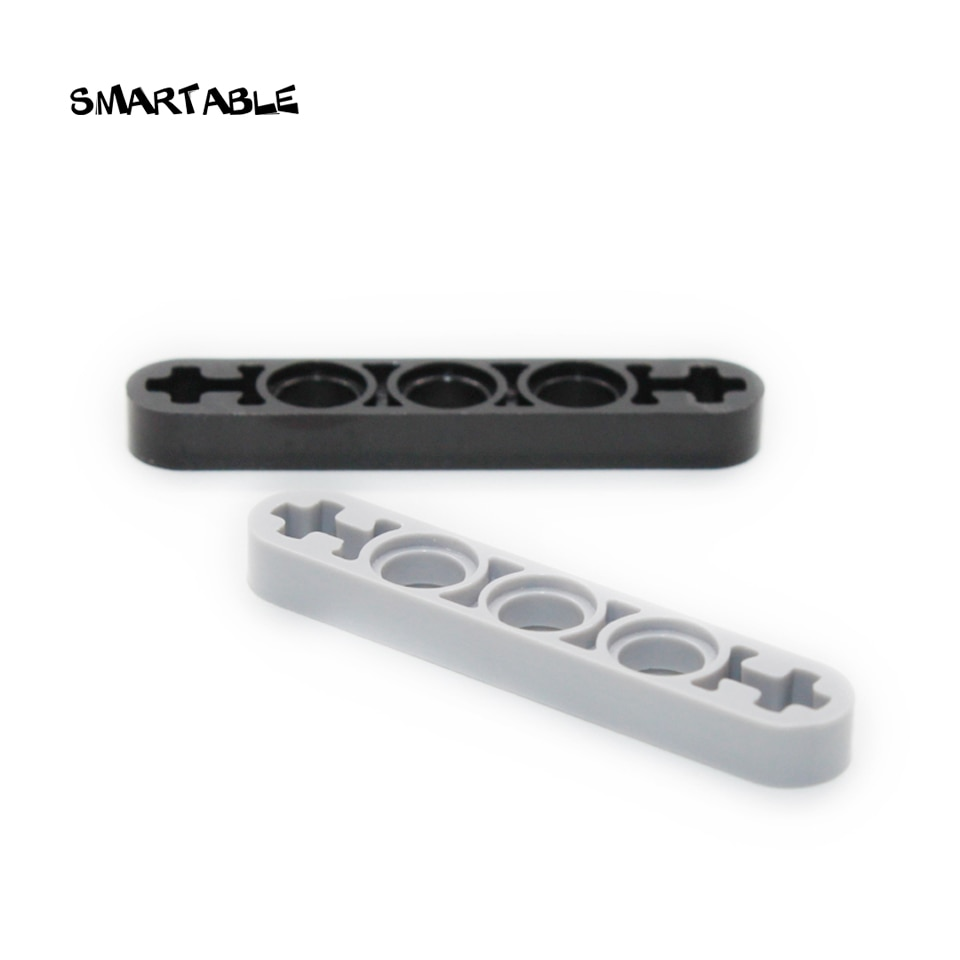 Smartable High-Tech Liftarm 1x5 Thin Building Block Parts Toys For Kid Educational Creative Compatible 11478 MOC 50pcs/lot