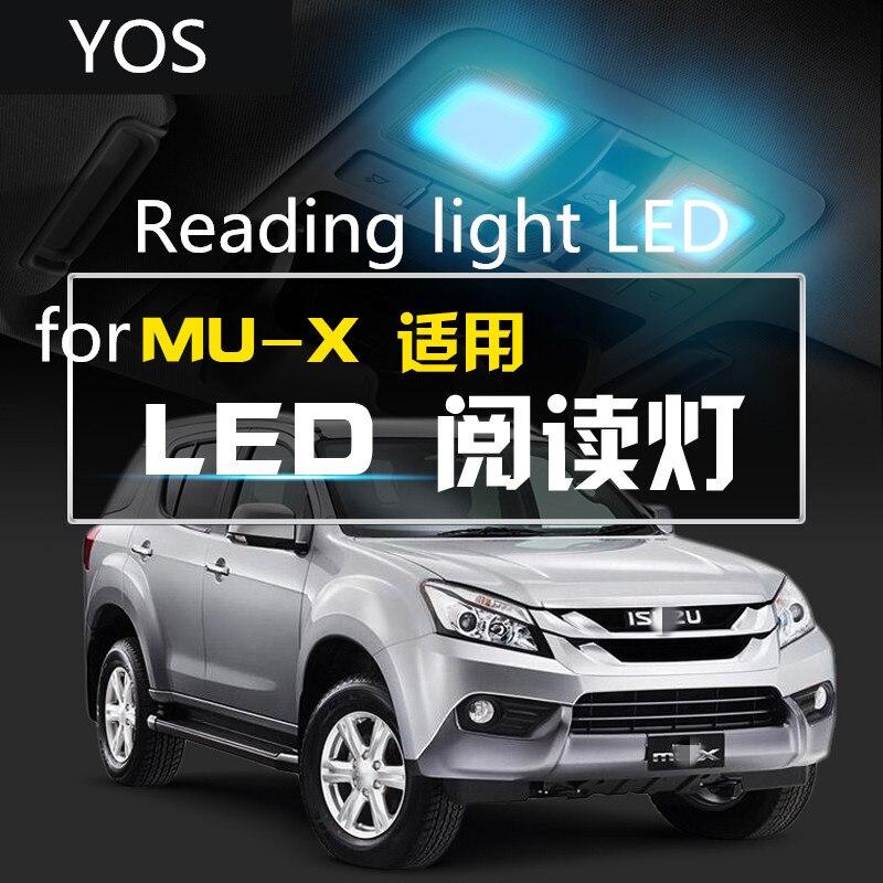 Reading Light LED Ceiling Light Car Interior Ceiling Indoor Light Refit 5000K 12V For Isuzu MU-X