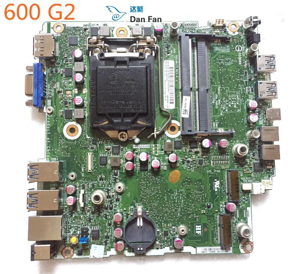 827979-001 do HP ProDesk 600 G2 płyta główna 825991-001 LG1151 płyty głównej płyta główna 100% w pełni przetestowane pracy