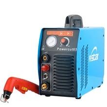 Rstar Digtal Igbt onduleur PFC Tech Powermax65 Plasma Cutter système de soudage large tension dentrée 96VAC ~ 300VAC S45 torche
