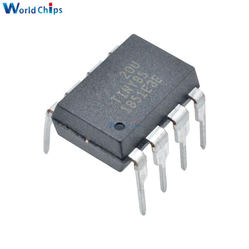 10pcs/lot IC Chip ATTINY85-20PU  DIP-8 ATTINY85 MCU 8BIT ATTINY 20MHZ 8 Pin DIP ATTINY85 Microcontroller IC Chips In Stock