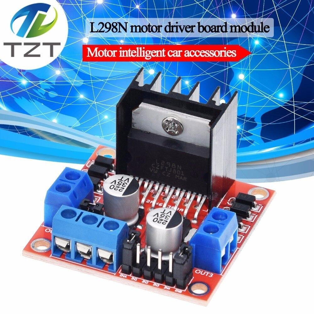 Dual H Brücke DC Stepper Motor Drive Controller Board Modul L298N für Arduino smart car robot