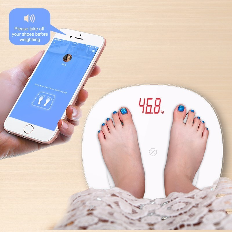GASON S6 Body Fat Scale Floor Scientific Smart Electronic LED Digital Weight Bathroom Balance Bluetooth APP Android or IOS enlarge