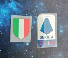 Patchs en Silicone pour coppa Italia Circle   19 20 patchs Scudetto série 2019 A TOPPA, 2019 2020 Lega Calcio TIM