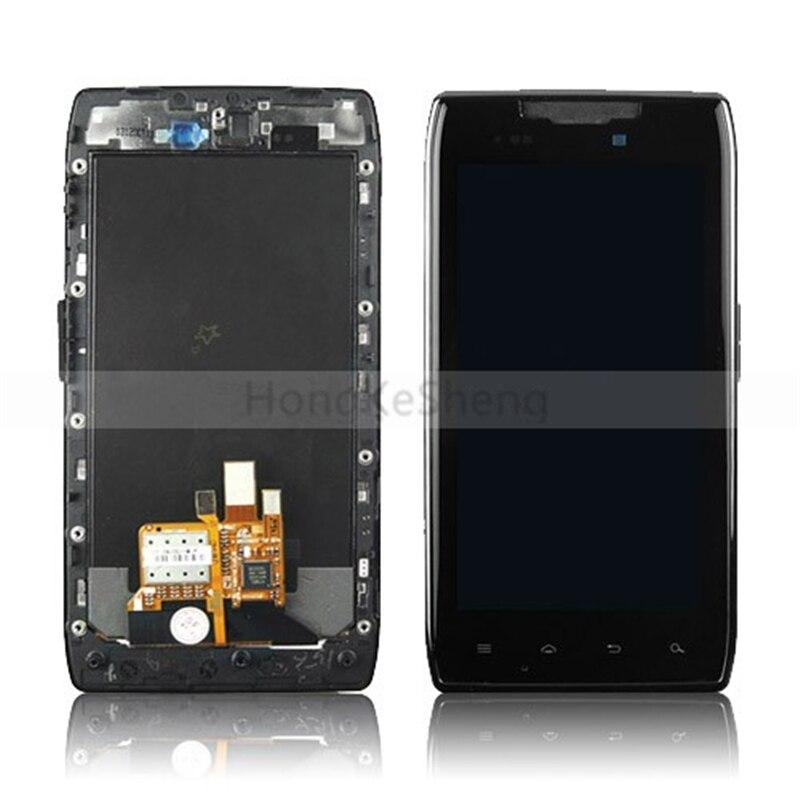 Reemplazo completo de pantalla frontal OEM para Motorola DROID RAZR XT910 XT912