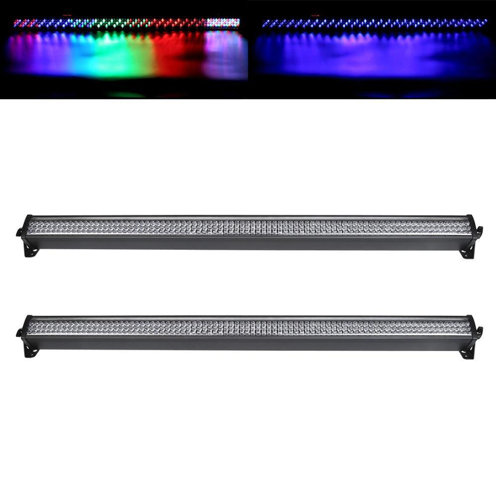 2/4/6/8PCS 252 LED RGB Wall Wash Bar Light DMX512 DJ Party Disco Stage Show Display