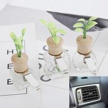 Auto Parfüm Clip Gras Geruch Lufterfrischer Auto Outlet Dekoration Leere Flasche Vent Ornament Zubehör Geschenk Ohne parfüm