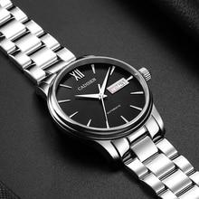 1032 CADISEN hommes montre automatique mécanique rôle Date mode luxe marque étanche horloge mâle Reloj Hombre Relogio Masculino