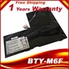 Batterie 11.4V 4640mAh pour ordinateur portable MSI 16H2 GS60 GS60 2PC-010CN PX60 BTY-M6F 2PL 6QE 2QE 2PE 2QC 2QD 6QC MS-16H2