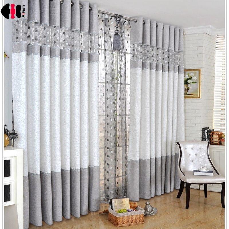 Роскошные современные шениллевые шторы с вышивкой Птичье гнездо для спальни гостиной кофе французское окно лечение Cortinas WP221C