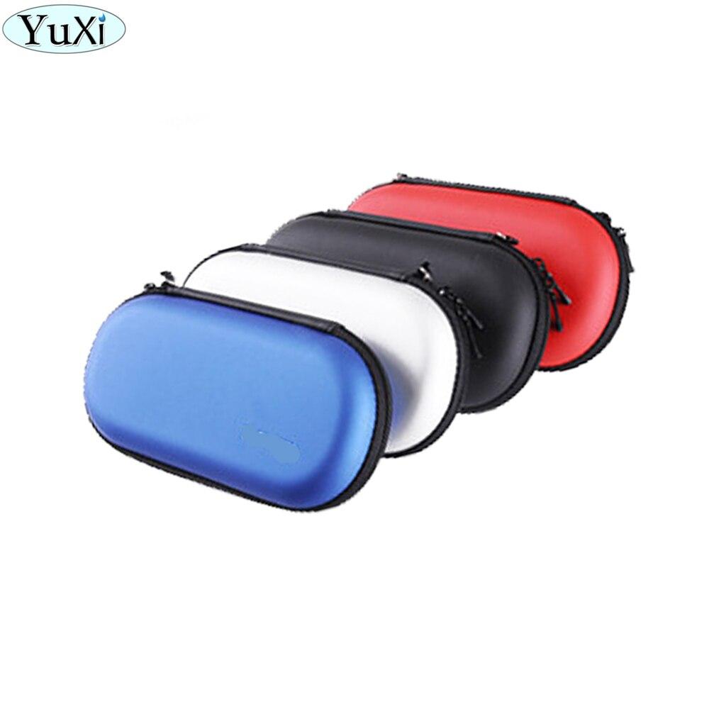 YuXi para Sony PSV1000 PSV2000 bolsa de almacenamiento de viaje Carcasa protectora rígida bolsa para Sony Psvita PS Vita PSV 1000 2000 Protector
