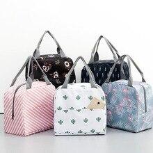 Modèle fonctionnel refroidisseur boîte à déjeuner Portable isolé toile sac à déjeuner thermique alimentaire pique-nique sacs à déjeuner pour les femmes enfants