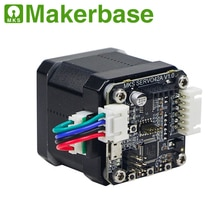 12/24V MKS Closed-loop motor stepper 42 motors module NEMA17 SERVO42 0.96inch OLED 12864LCD by Makerbase for 3d printer parts