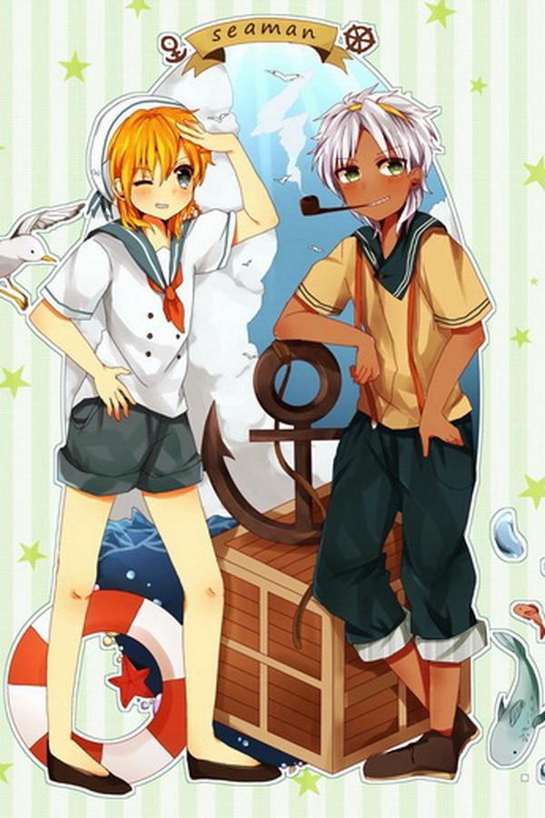 Magi Лабиринт магических аниме персонажей 90*60 см настенный прокрутки постер #37452