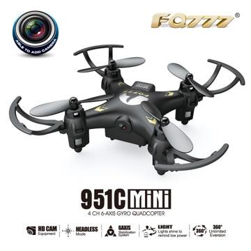 Original FQ777 951C drone aéreo mini avión teledirigido juguete modelo de avión