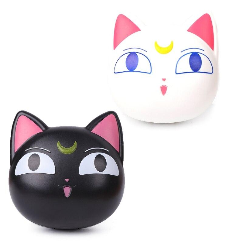 Novedad de 2018, caja para lentes con dibujos de gato bonito, caja de almacenamiento portátil para contacto, soporte para contenedor de espejo, triangulación de envío