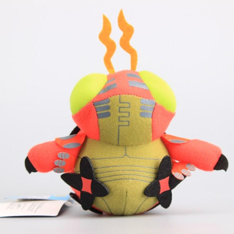 Digimon Adventure Tentomon de alta calidad, juguete de peluche de dibujos animados, muñecas de peluche suaves, regalo para niños de 12 CM
