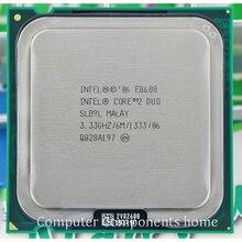 Orijinal intel core 2 duo E8600 soket LGA 775 İşlemci İşlemci (3.33 Ghz/6 M/1333 GHz) uygun G31 G41 anakart