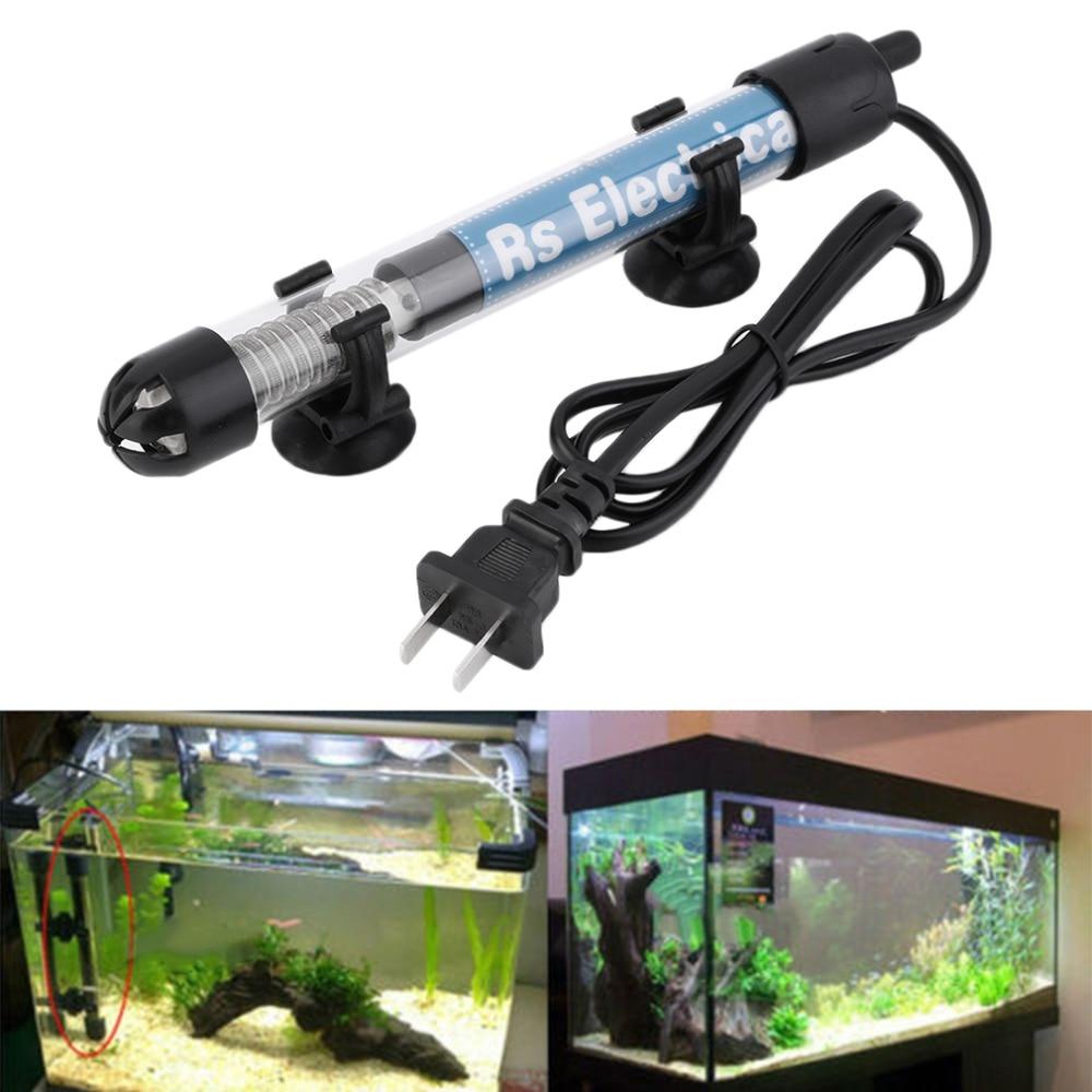50w/100w/200w/300w US Plug Submersible Heater Heating Rod for Aquarium Glass Fish Tank Temperature Adjustment